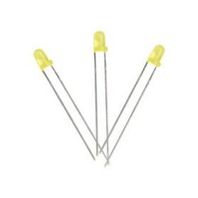 LED زرد 3mm مات بسته 20 تایی
