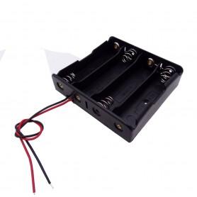 جاباتری چهار تایی باتری های لیتیوم یون 3.7V سایز 18650