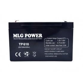 باتری خشک 6 ولت 10 آمپر ساعت مارک MLG Power