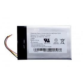 باتری لیتیوم پلیمر 3.7v ظرفیت 1530mAh مارک P POWER مدل S11ND018A