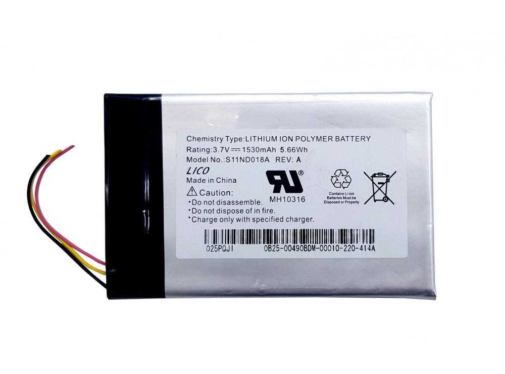 باتری لیتیوم پلیمر 3.7v ظرفیت 1530mAh مارک P POWER