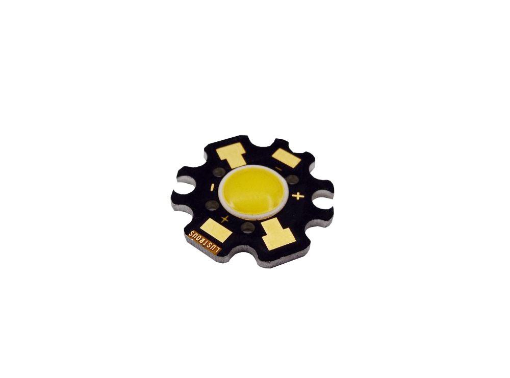 LED COB سفید آفتابی 3W-6V مدل LUSTROUS 5CLAEA