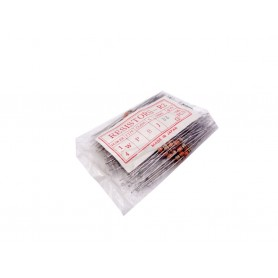 مقاومت 33 اهم 0.25w بسته100 تایی