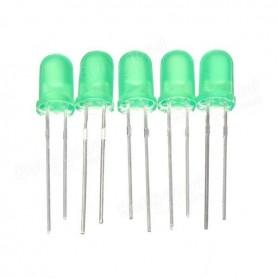 LED سبز مات 4mm