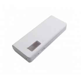 کیس پاوربانک 20000mAh دو خروجی USB به همراه نمایشگر و برد 5 باتری