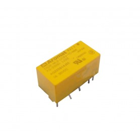 رله 5V مینیاتوری 10 پایه ژاپنی مارک AROMAT کد DS2E-ML2