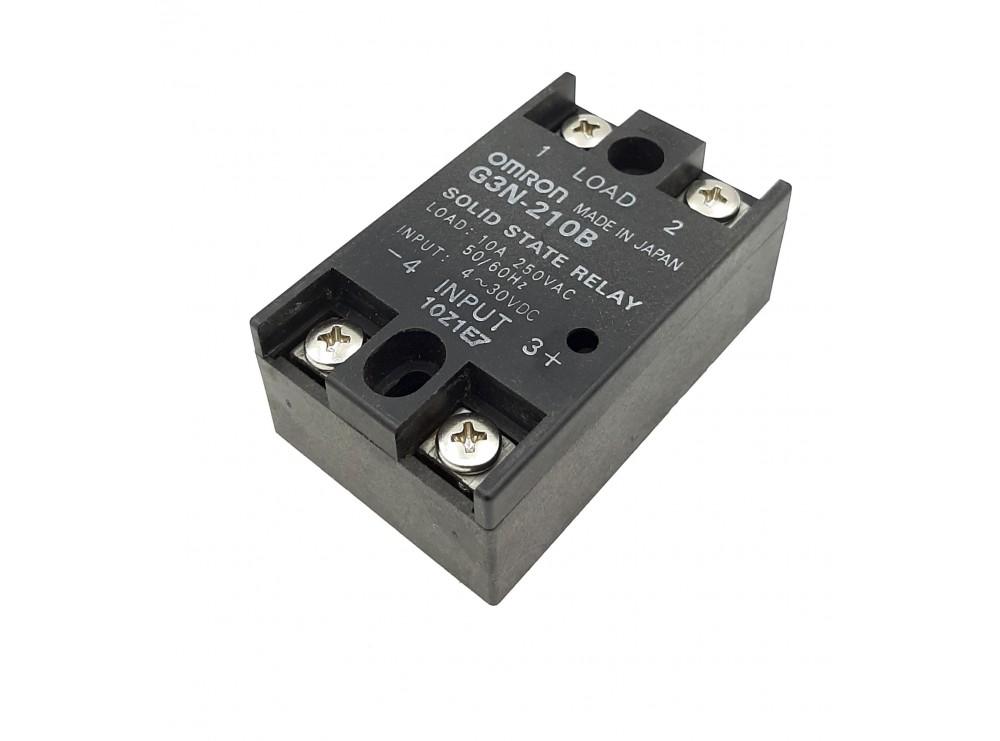رله حالت جامد SSR مرغوب OMRON ژاپنی 250VAC-10A کد G3N-210B