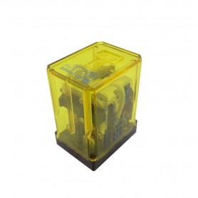 رله 24V شیشه ای 8 پایه ژاپنی مارک AROMAT کد HC2E-HP