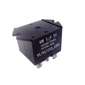 رله 110VAC ماکروویو 5 پایه مارک YUYU مدل UR1YTT