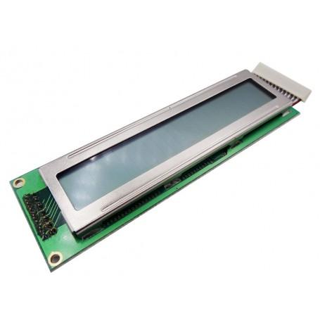 LCD کاراکتری صنعتی 2x24 مارک PVC تایوان به همراه فلت