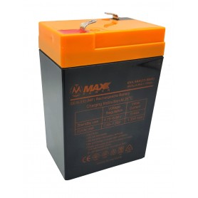 باتری خشک 6 ولت 4.5 آمپر ساعت مارک Max Power