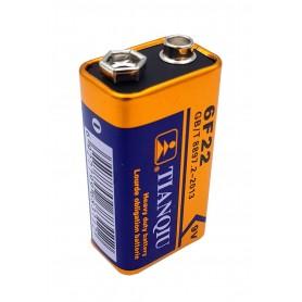 باتری کتابی 9 ولت مارک Tianqiu بسته10 تایی