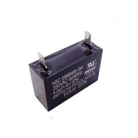 خازن 4uF / 250V کره ای دائم کار موتور AC مارک SAMSUNG