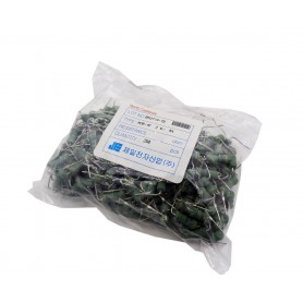 مقاومت متال اکسید 1.8 اهم خم 2W کره ای بسته250 تایی