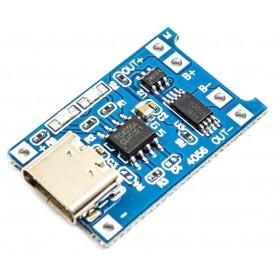 شارژر USB TYPE-C باتری های لیتیومی