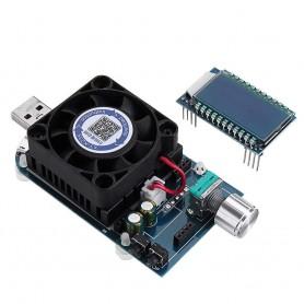 لود تستر باتری 5A-35W مدل KZ35 با 3 پورت USB