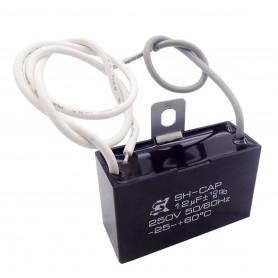 خازن 12uF / 250V دائم کار موتور AC