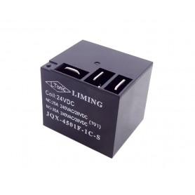 رله فیش خور - کولری 24 ولت 30 آمپر مارک LIMING کد JQX-4501F-1C-S