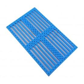 صفحه پلاستیکی شیاردار 12x7.5cm