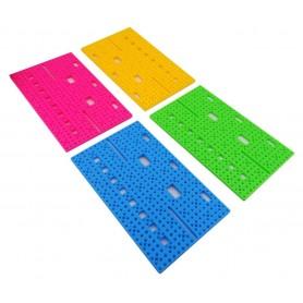 صفحه پلاستیکی شیاردار 14x8.5cm