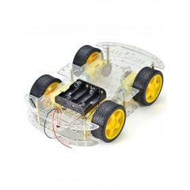 شاسی ربات حرفه ای چهار چرخ 4WD