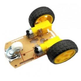 شاسی ربات حرفه ای دو چرخ 2WD