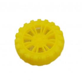 چرخ ربات پلاستیکی کوچک سایز 40x10mm