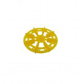 سازه چرخ پلاستیکی پروانه ای قطر 5 سانتی متر