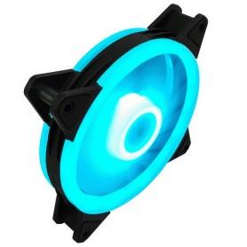 فن کیس LED آبی 12V سایز 12X12