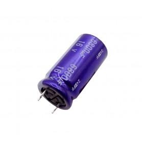 خازن الکترولیتی 6800uF / 16V مالزی مارک PANASONIC