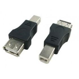 تبدیل USB-A مادگی به USB-B (تبدیل USB به پرینتری)