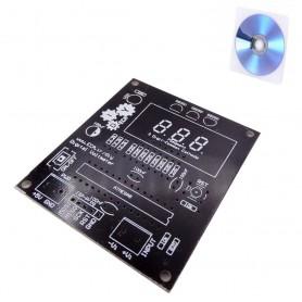 برد PCB استارترکیت ولتمتر دیجیتالی به همراه لوح آموزشی
