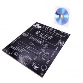 برد PCB استارتر کیت فرکانس متر دیجیتالی به همراه لوح آموزشی