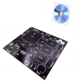 برد PCB استارتر کیت RFID به همراه لوح آموزشی