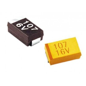 خازن تانتال SMD 0.1uF / 35V پکیج A