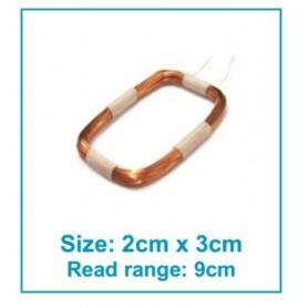 آنتن RFID خارجی 345uH سایز 2x3cm