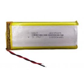 باتری لیتیوم پلیمر 3.7v ظرفیت 1800mAh مارک HST کد 403585