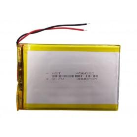باتری لیتیوم پلیمر 3.7v ظرفیت 3000mAh مارک HST کد 456090