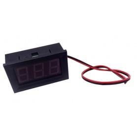ماژول ولتمتر سایز 0.56 اینچ 2 سیمه روپنلی قرمز DC4.5-30V