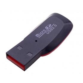 مموری ریدر تک کاره Micro SD USB 2.0 طرح B