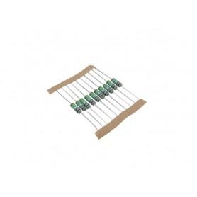 مقاومت سیمی غیر سلفی 0.38 اهم 2W بسته100 تایی