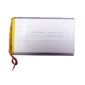 باتری لیتیوم پلیمر 3.7v ظرفیت 10000mAh مارک AHOORA کد 1160100