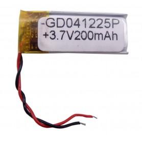باتری لیتیوم پلیمر 3.7v ظرفیت 200mAh