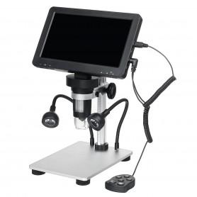 میکروسکوپ دیجیتال 1200X Portable Digital Microscope دارای نمایشگر 7 اینچی مدل DM9