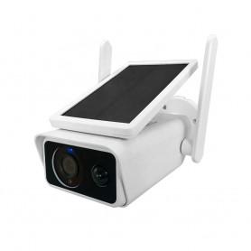 دوربین هوشمند وای فای 1080P / 2MP خورشیدی مدل ES-2R