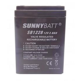 باتری خشک 12 ولت 2.8 آمپر ساعت مارک SunnyBatt