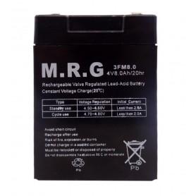 باتری خشک 4 ولت 8 آمپر ساعت مارک M.R.G