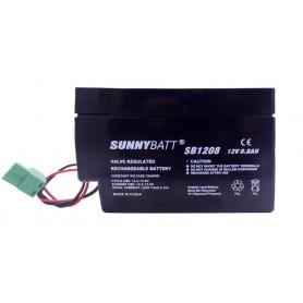 باتری خشک 12 ولت 0.8 آمپر ساعت مارک SunnyBatt