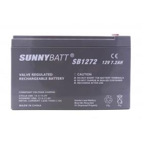 باتری خشک 12 ولت 7.2 آمپر ساعت مارک SunnyBatt
