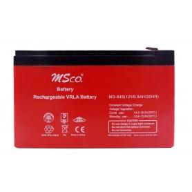 باتری خشک 12 ولت 9 آمپر ساعت مارک MSco